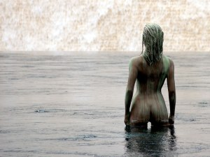Woman in Water by Ton Haex on Flickr